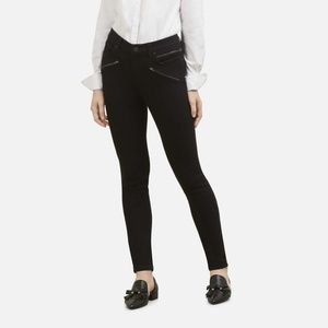 Kenneth Cole Jess Moto Black Skinny Jean